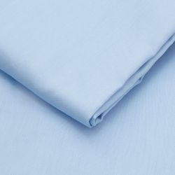 Spannbetttuch Baumwollsatin | Light Blue