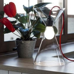 JAL Lamp | Transparent