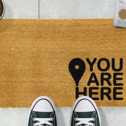 Doormat You are Here