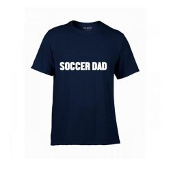 T-Shirt Soccer Dad | Navy & White