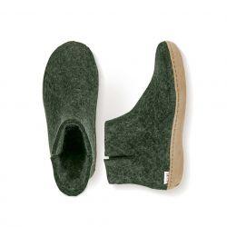 Das Stiefelleder | Grün