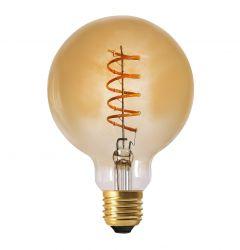 Glühbirne Elect Spiral LED 2000K 9.5 cm   Gold