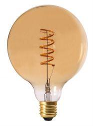 Glühbirne Elect Spiral LED 2000K 12.5 cm   Gold