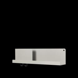 Klappregal 63x16,5 cm / 24,75x6,5 l Grau