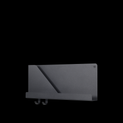 Klappregal 51x22 cm / 20x8,75 l Schwarz