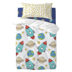 Duvet Cover Set | Space Rocket