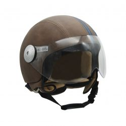 Helmet Sporty Visor B | Brown | Medium