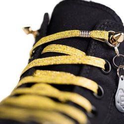 Elastische Schoenveter | Prestige Goud