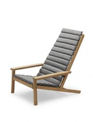 Cushion for Outdoor Deck Chair Between Lines | Ash