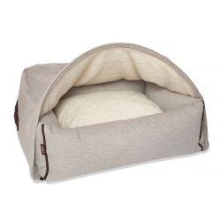 Snuggle Cave Kuschelhöhlen-Bett M   Creme