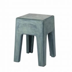 Concrete Stool Ravi | Green