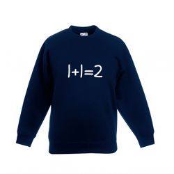 Kids Sweater 1 + 1 | Blauw