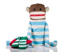 Laundry Bag Dirty Sock Monkey