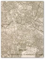 Wooden Wall Decoration | City Map | Berlin