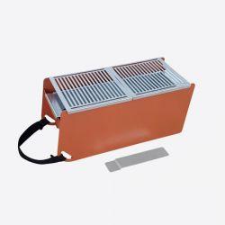 Holzkohle- & Wasser-Tischgrill Yaki | Orange