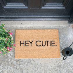 Doormat | Hey Cutie