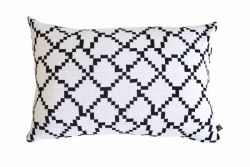 Seitti Cushion Cover | Black&White