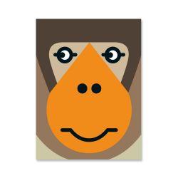 Plakat | Affengesicht