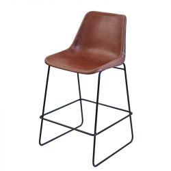 Stool Giron | Brown