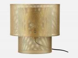 Cyla Table Lamp | Matt Antique Brass