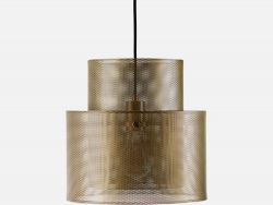 Cyla Pendant Lamp | Matt Antique Brass