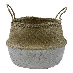 Basket Seagrass | White & Natural II