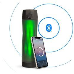 Smart-Wasserflasche HidrateSpark 3 | Schwarz