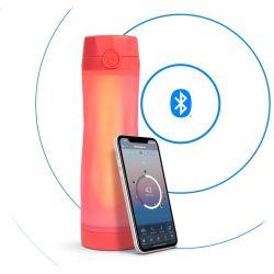 Smart-Wasserflasche HidrateSpark 3 | Coral