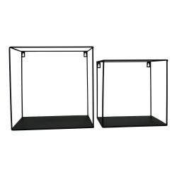 Wall Shelves Metal | Set of 2