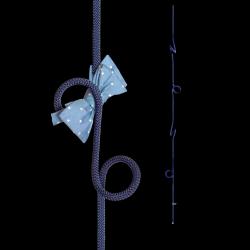 Hängende Garderobe Loop Rope | Blau