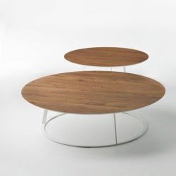 Albino Coffee Table Walnut