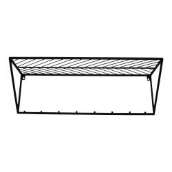 Wall Shelf Triangle | Black