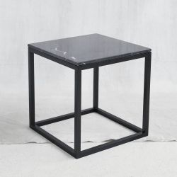 Black Cube Table | Black