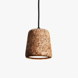Material Pendant | Mixed Cork