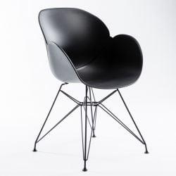 Chaise Malaga | Noir