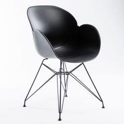 Stuhl Malaga | Schwarz