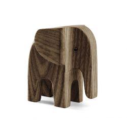 Elefant Baby | Dunkel Eschenholz