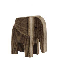 Elefant | Dunkel Eschenholz