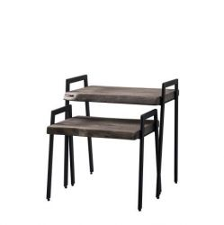 Lot de Deux Tables D'appoint | Accia 18
