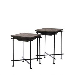 Lot de Deux Tables D'appoint | Accia 19