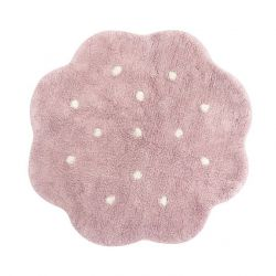 Tapis lavable Mini Biscuit Vintage Nude
