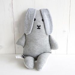 Cuddly Flap in Bag | Grey