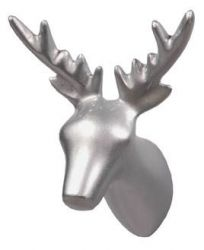 Dear Deer Coat Hook | Silver