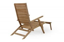 Deck Chair Chios | Light Wood