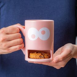Mug Monster / Cookie Cup | Pink