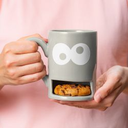 Mug Monster / Cookie Cup | Grey