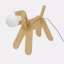 Get Out Lamp Hond | Geel