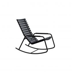 Outdoor Rocking Chair ReCLIPS | Black