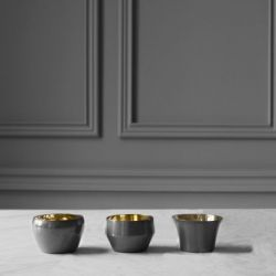 Kin Tealight Holder Set/3 | Mole's Grey