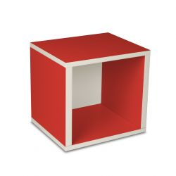 Storage Cube Box Red